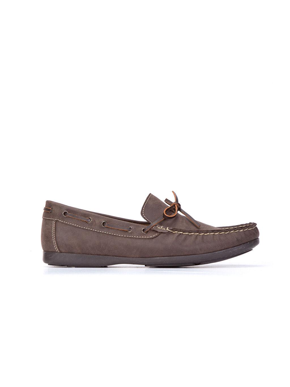Kahverengi Erkek Loafer Ayakkabı 8W3210Z8 LC Waikiki