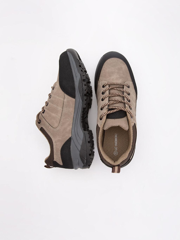Tekstil malzemeleri Diğer malzeme (poliüretan) Kısa Trekking Bağcık Erkek Günlük Trekking Ayakkabı