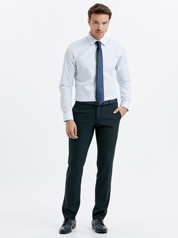 Erkek Uzun Kollu Poplin Gömlek