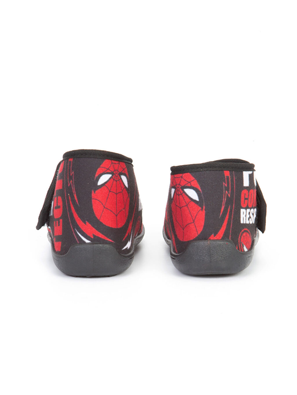 Spiderman Baskılı Panduf