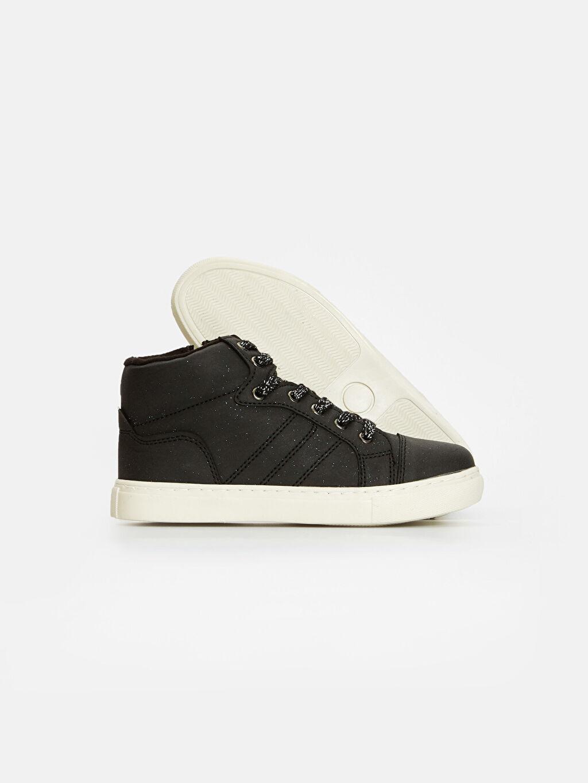 %0 Diğer malzeme (poliüretan) Sneaker Kız Çocuk Bağcıklı Ayakkabı