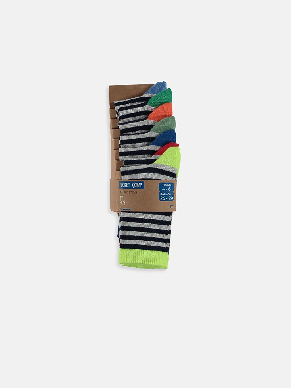 Çok Renkli Soket Çorap 7'li 8W8593Z4 LC Waikiki