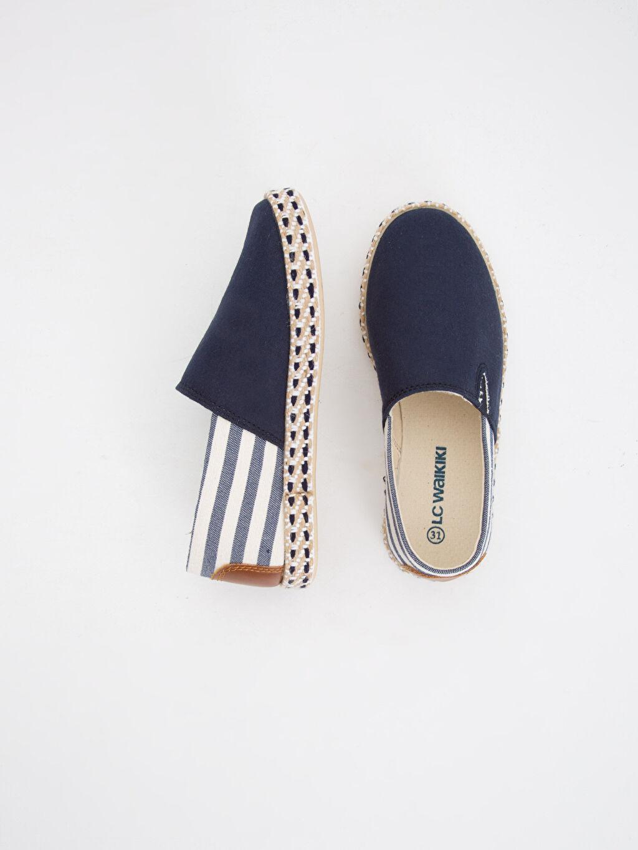 Tekstil malzemeleri Diğer malzeme (poliüretan) Tekstil malzemeleri Casual Bağcıksız Sneaker Dokuma Astar Kısa Kumaş Görünümlü Espadril Ayakkabı
