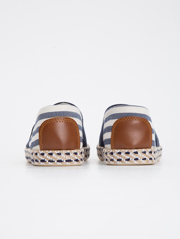 Kumaş Görünümlü Espadril Ayakkabı
