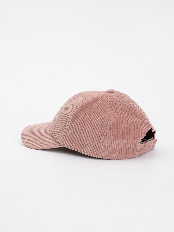 Kız Çocuk Kız Çocuk Kadife Şapka