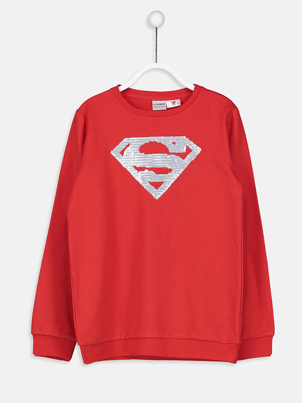 Erkek Çocuk Erkek Çocuk Superman Sweatshirt