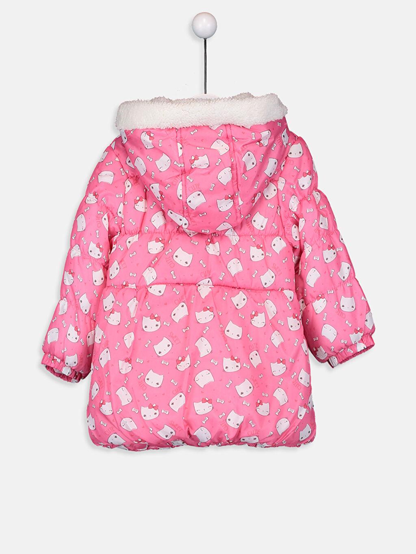 %100 Polyester %100 Polyester Kalın Kaban Kız Bebek Kapüşonlu Kalın Kaban