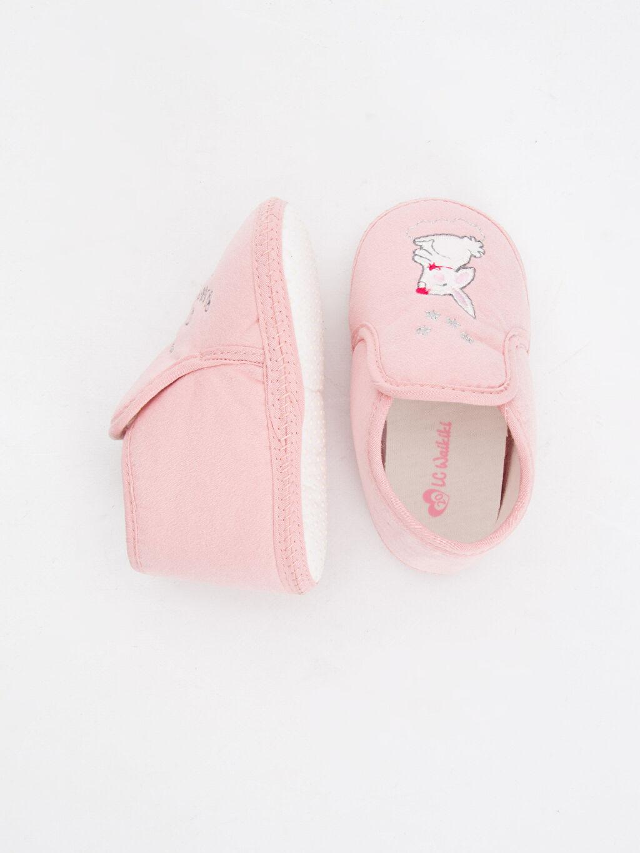 %0 Tekstil malzemeleri Midi Kısa(0-2cm) Tekstil Malzeme Yürümeyen Kız Bebek Yürüme Öncesi Ayakkabı