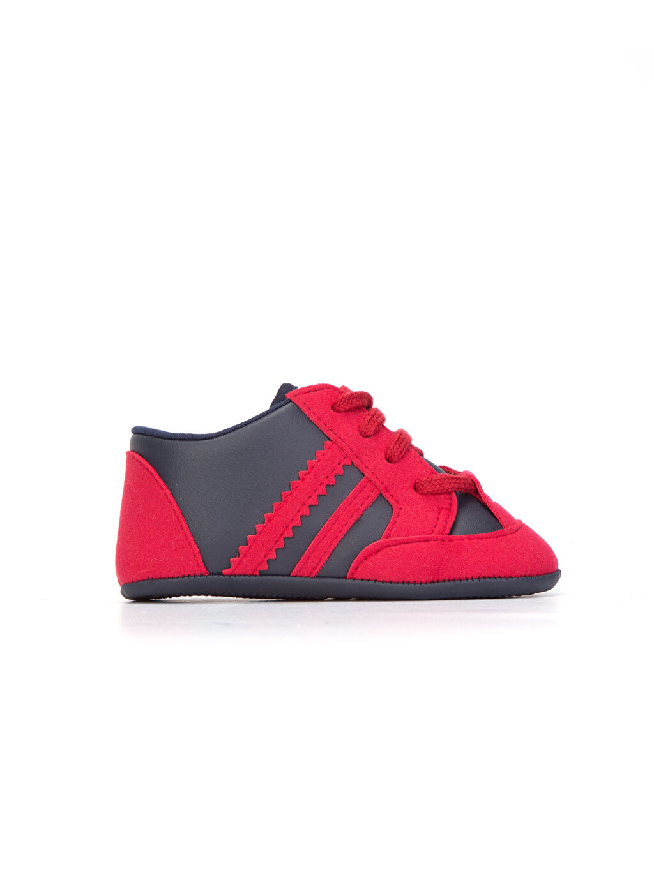 Kırmızı Erkek Bebek ilk Adım Ayakkabısı 8W2762Z1 LC Waikiki
