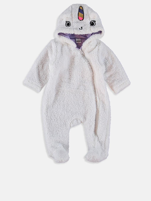 %100 Polyester %100 Pamuk Tulum Kız Bebek Pelüş Tulum