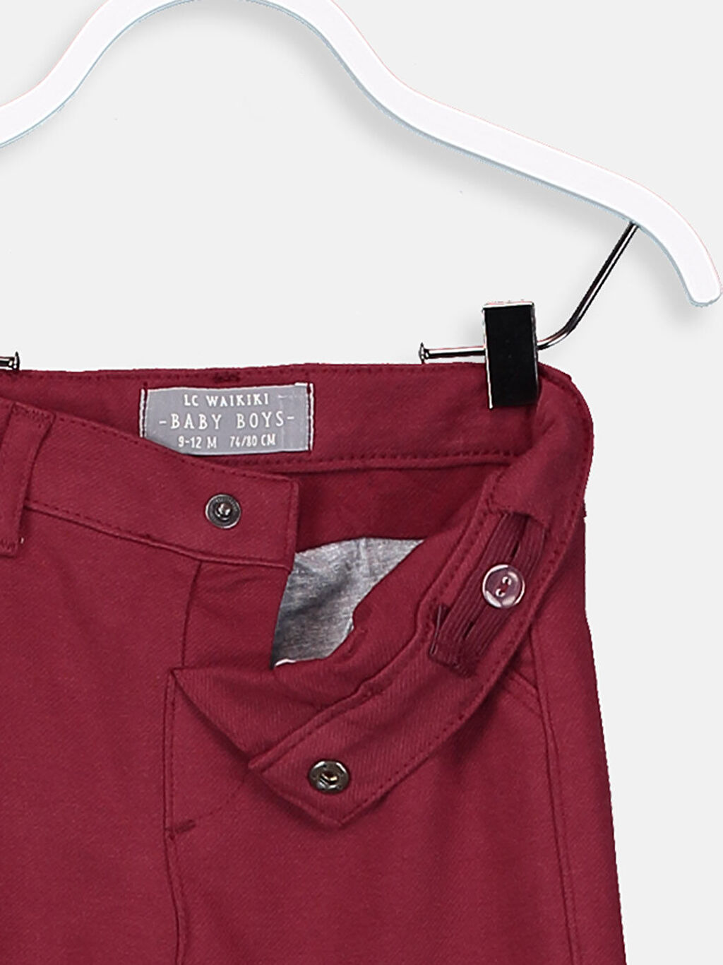 %74 Pamuk %19 Polyester %7 Elastan Erkek Bebek Pamuklu Pantolon