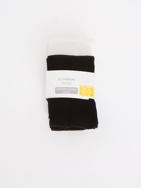 Siyah Erkek Bebek Külotlu Çorap 8WO694Z1 LC Waikiki
