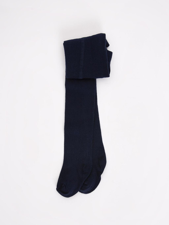 Lacivert Erkek Bebek Külotlu Çorap 8WO695Z1 LC Waikiki