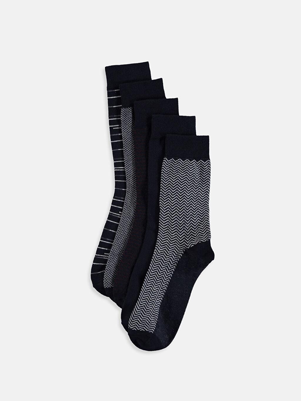 Çok Renkli Soket Çorap 5'li 9S4357Z8 LC Waikiki