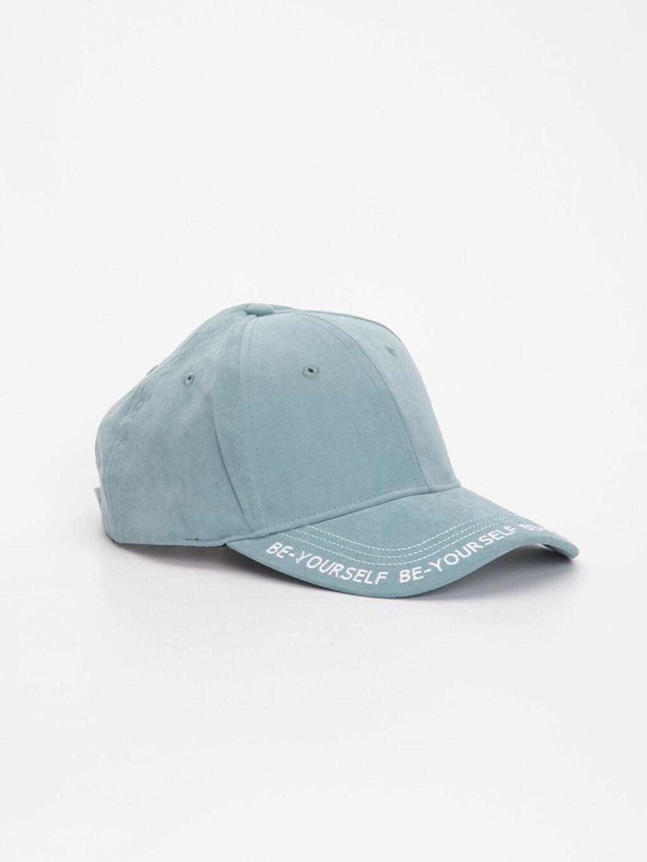 %92 Polyester %8 Poliamid Şapka Kep Baskılı Yazı Baskılı Şapka