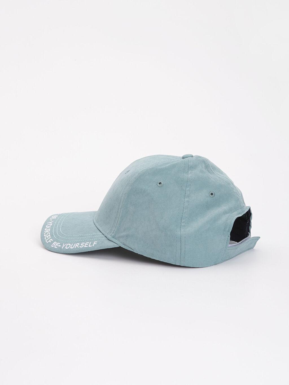 %92 Polyester %8 Poliamid Yazı Baskılı Şapka