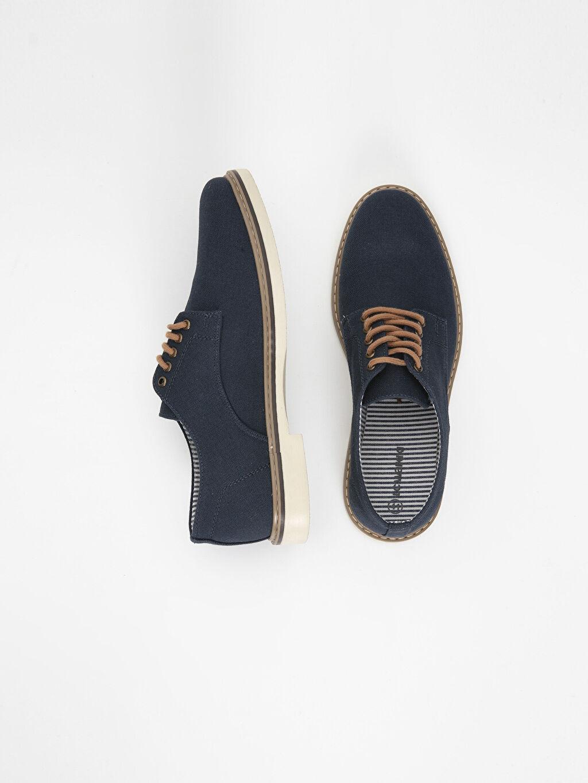 Tekstil malzemeleri Bağcık Klasik Ayakkabı Erkek Derby Ayakkabı