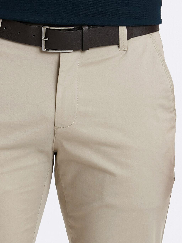 Standart Kalıp Gabardin Pantolon