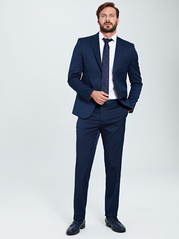 %73 Polyester %3 Elastan %24 Viskoz %100 Polyester Standart Düz Astarlı Blazer Ceket Standart Kalıp Akıllı Kumaş Blazer Ceket
