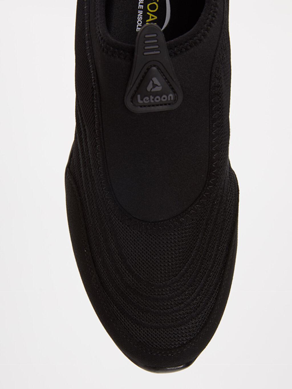Siyah Letoon Erkek Spor Ayakkabı