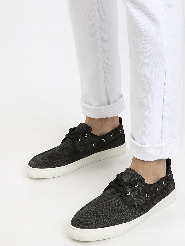 Siyah Letoon Erkek Loafer Ayakkabı 9SY996Z8 LC Waikiki