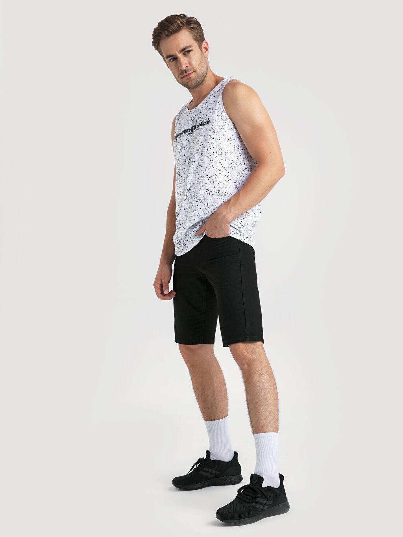 Aktif Spor Ayakkabı Letoon Erkek Bağcıklı Siyah Spor Ayakkabı