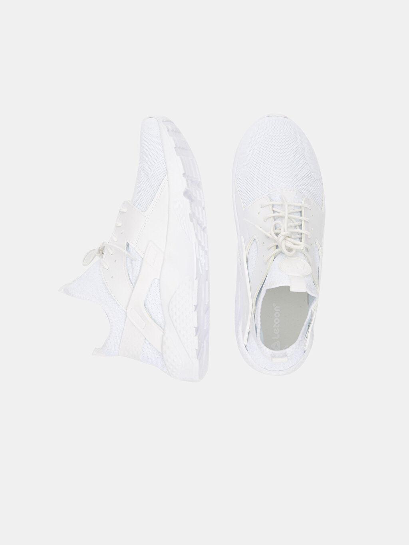 Beyaz Letoon Erkek Bağcıklı Spor Ayakkabı   9SA097Z8 LC Waikiki
