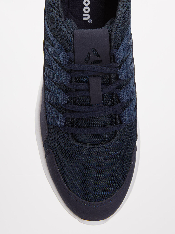Lacivert Letoon Erkek Bağcıklı Spor Ayakkabı