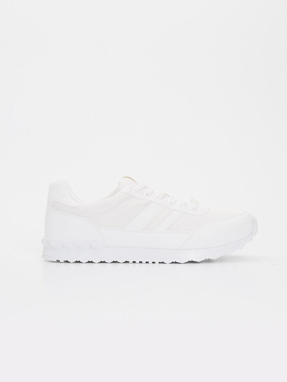 Beyaz Letoon Erkek Bağcıklı Spor Ayakkabı 9SA260Z8 LC Waikiki