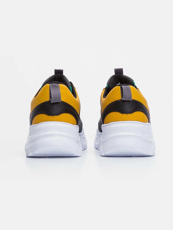 Erkek Kontrast Renkli Spor Ayakkabı