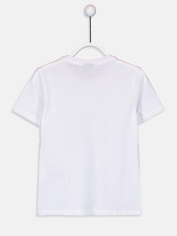 %100 Pamuk %100 Pamuk Standart Baskılı Tişört Bisiklet Yaka Kısa Kol Penye Erkek Çocuk Yazı Baskılı Pamuklu Tişört