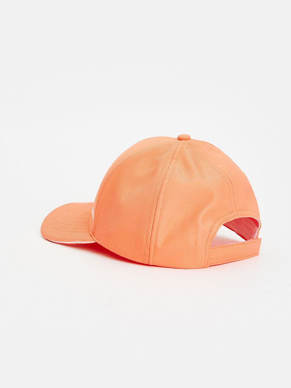 %100 Polyester Yazı Baskılı Neon Şapka