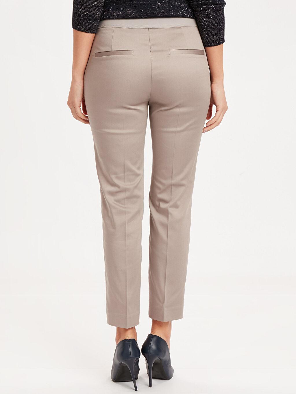 Kadın Bilek Boy Kumaş Pantolon