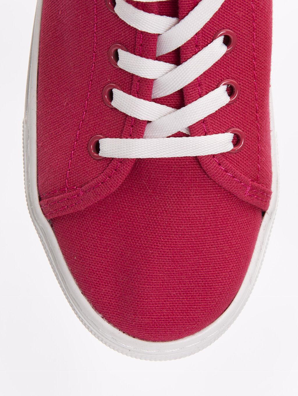 LC Waikiki Kırmızı Kadın Bağcıklı Spor Ayakkabı