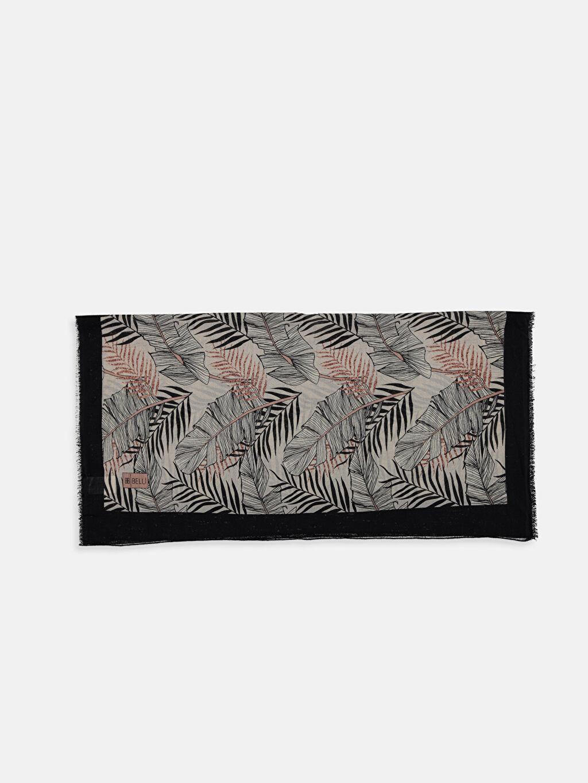 %100 Polyester Baskılı Şal Desenli Şal