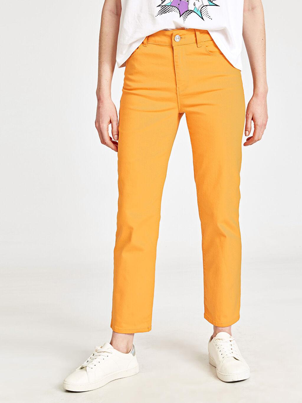 Kadın Düz Paça Pantolon