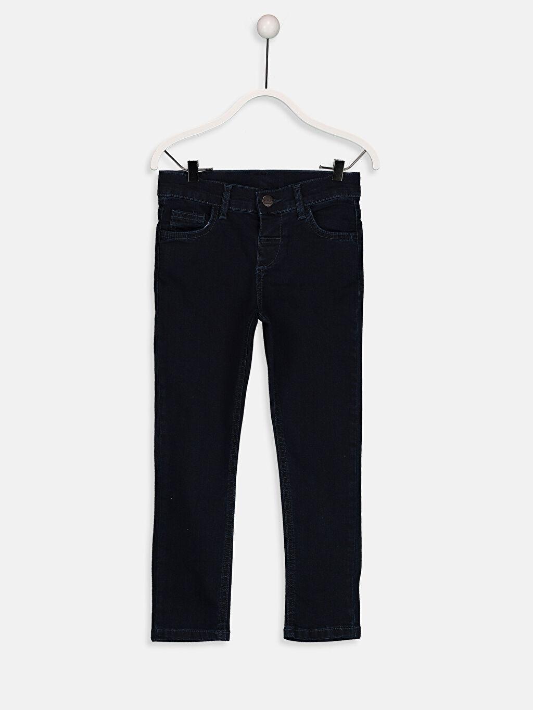 İndigo Erkek Çocuk Skinny Jean Pantolon 9S0037Z4 LC Waikiki