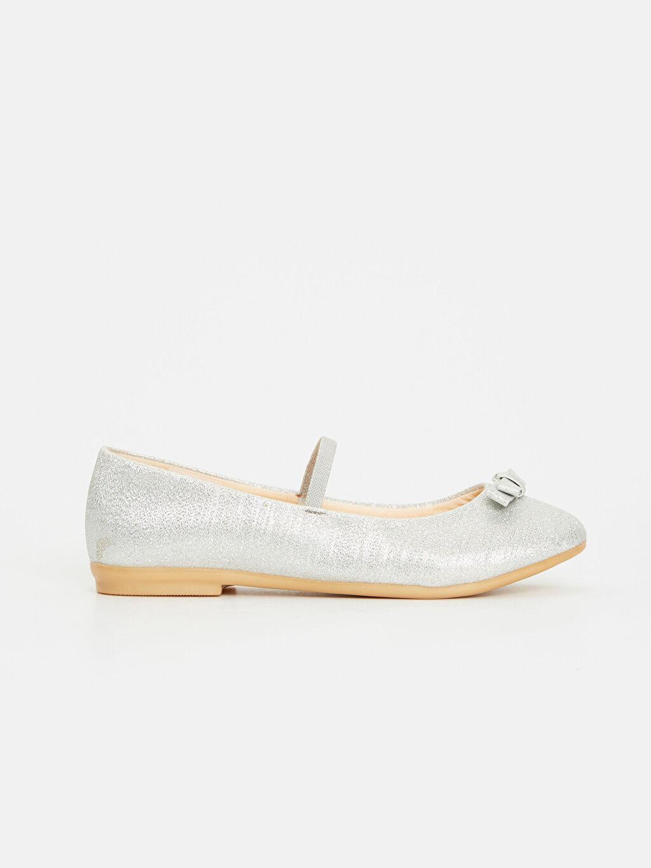 Gri Kız Çocuk Babet Ayakkabı 9S0281Z4 LC Waikiki