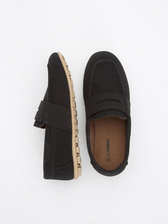Diğer malzeme (poliüretan) Tekstil malzemeleri Diğer malzeme (poliüretan) Klasik Ayakkabı 23 Nisan Erkek Çocuk Makosen Ayakkabı