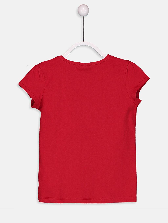 %100 Pamuk %100 Pamuk Bisiklet Yaka Kısa Kol Düz Penye Standart Tişört Kız Çocuk Pamuklu Basic Tişört