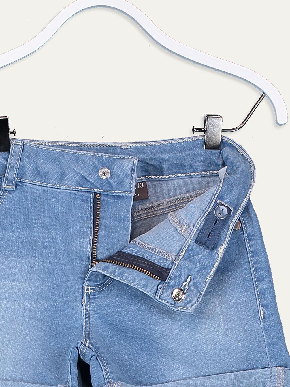 Джинсовые шорты -9S5715Z4-H45