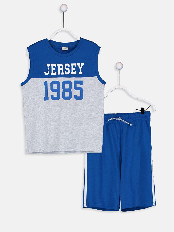 Mavi Erkek Çocuk Atlet ve Roller 9S8272Z4 LC Waikiki