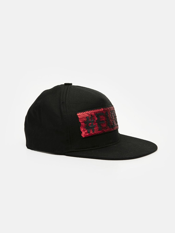 Siyah Erkek Çocuk Pamuklu Şapka 9S9926Z4 LC Waikiki