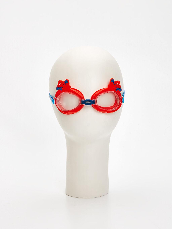 %100 Plastik Deniz Gözlüğü Erkek Çocuk Spiderman Deniz Gözlüğü