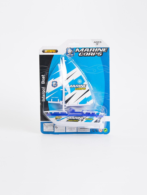 Çok Renkli Erkek Çocuk Deniz Teknesi Oyuncağı 9SH503Z4 LC Waikiki