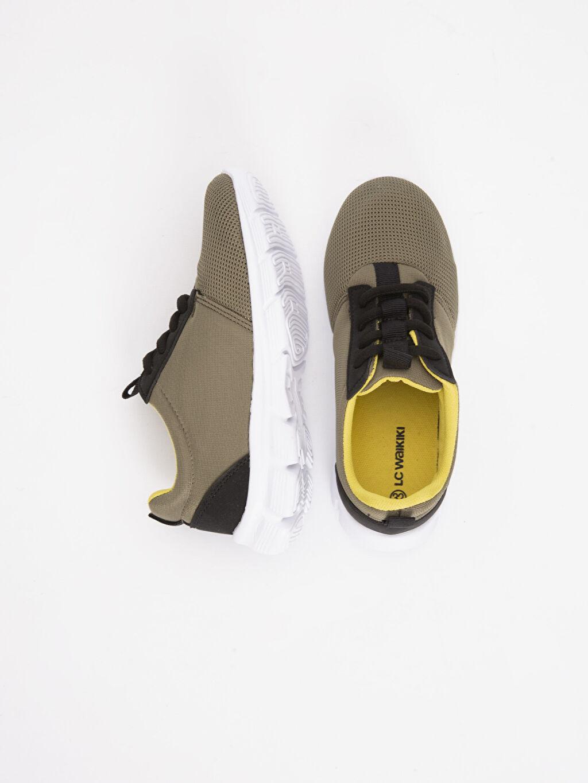 Tekstil malzemeleri Diğer malzeme (pvc) Tekstil malzemeleri Sneaker Bağcıklı Spor Ayakkabı