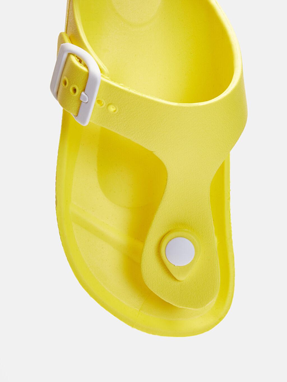 LC Waikiki Sarı Erkek Çocuk Parmak Arası Terlik