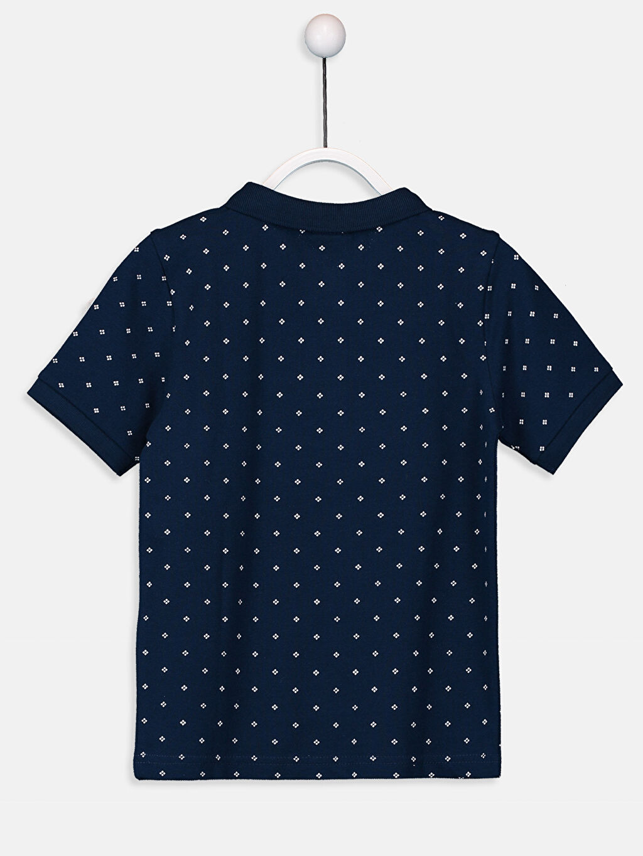 %100 Pamuk %100 Pamuk Baskılı Tişört Pike Polo Yaka Standart Erkek Çocuk Baskılı Polo Yaka Tişört