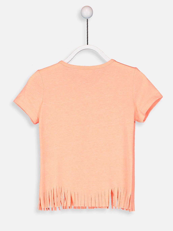 Kız Çocuk Kız Çocuk Çift Yönlü Payetli Tişört