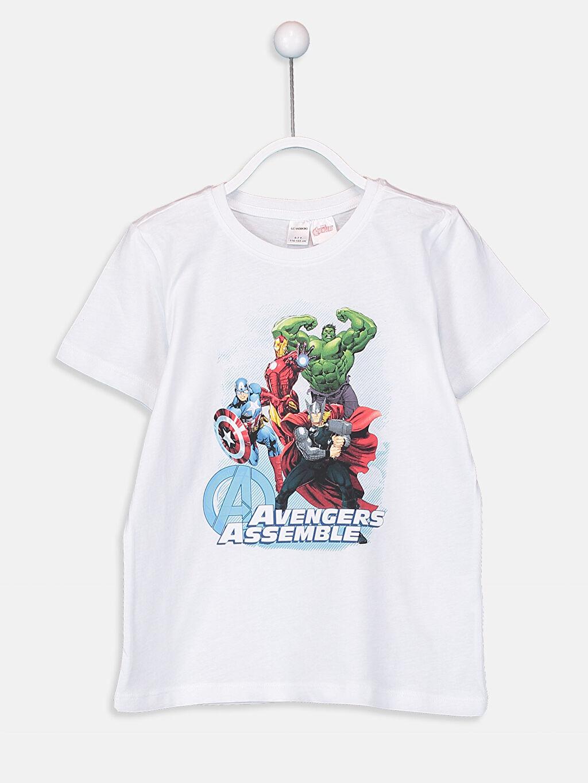 Erkek Çocuk Erkek Çocuk Avengers Lisanslı Pijama Takımı